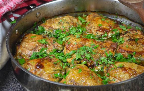 Chicken Canzanese